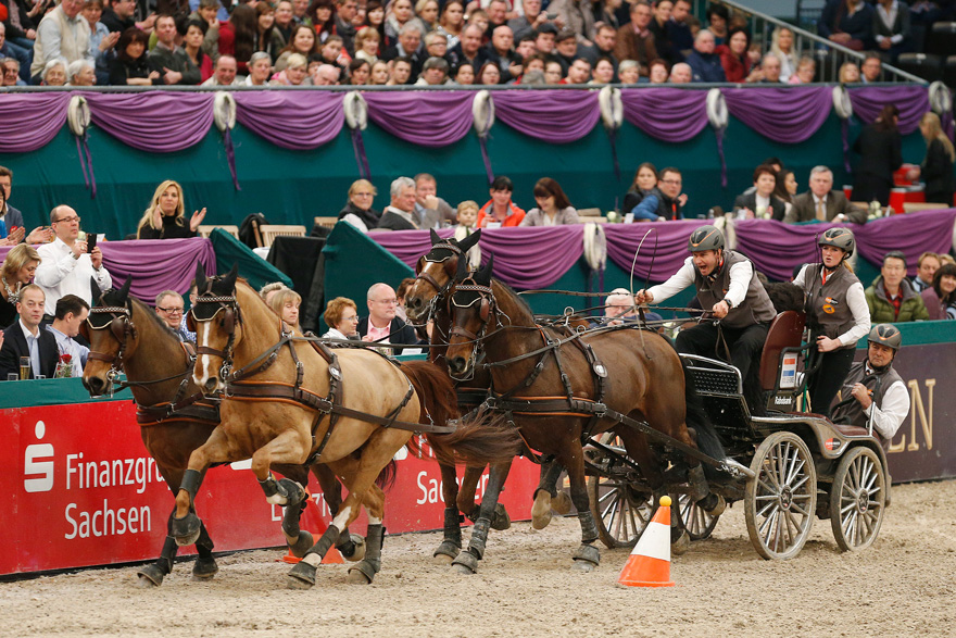 PARTNER PFERD Oranje-Sieg im FEI World Cup Driving