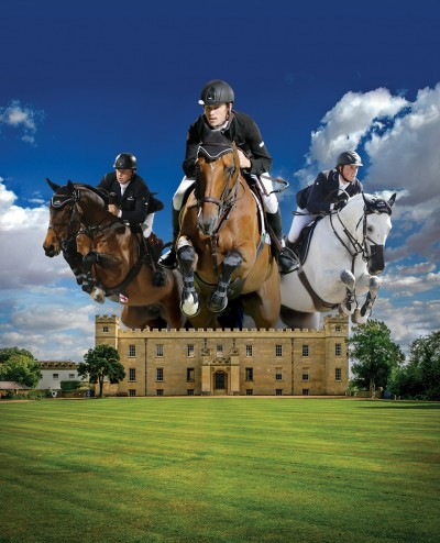 Longines Global Champions Tour London, Britaines Olympic gold medallists