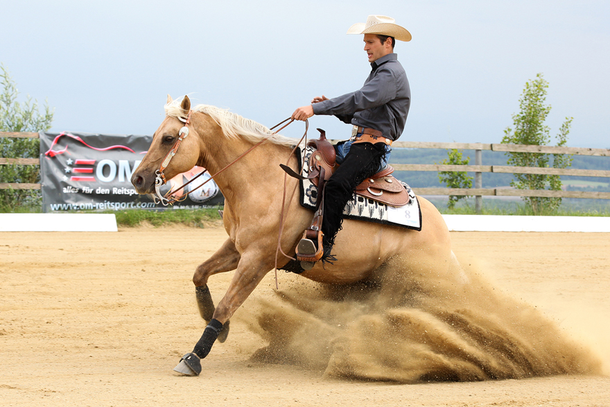 South Hill Ranch, Hohe Scores beim Reining Day 2015