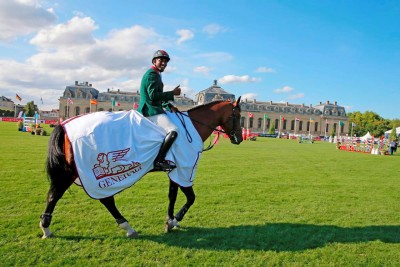 GCT Chantilly, Morocco's Abdelkebir Ouaddar gallops to the win in the opening day