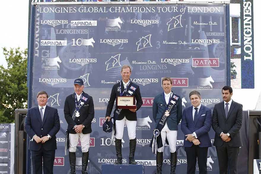 GCT London 2015, Christian Ahlmann Fünfter