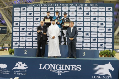 GCT Doha, Fit for Victory - Luciana Diniz is crowned 2015 Champion