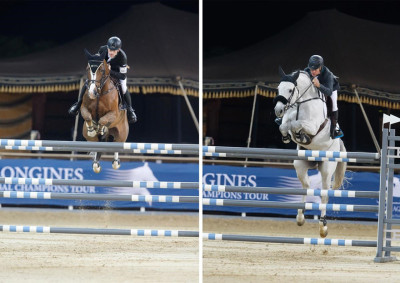 GCT Doha, Scott and Rolf dominate in tonight's feature CSI5* setting the scene for a spellbinding Grand Prix