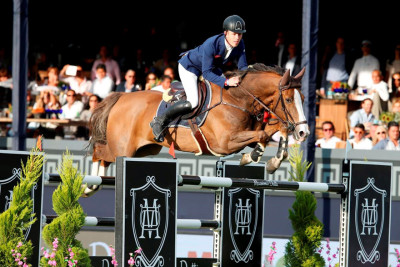 Scott Brash Brilliant Aboard Hello Forever in the CSI5* Massimo Dutti Trophy
