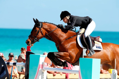 Edwina Tops-Alexander throws down the gauntlet after stunning LGCT Grand Prix of Miami Beach win
