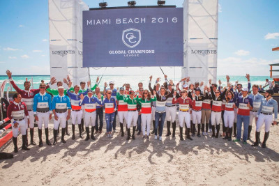 Global Champions League Teams on Starting Grid for Miami Beach Launch