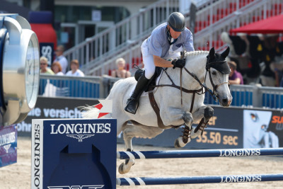 Sieg einer Legende im 5-Stern Opening der Longines Global Champions Tour of Vienna