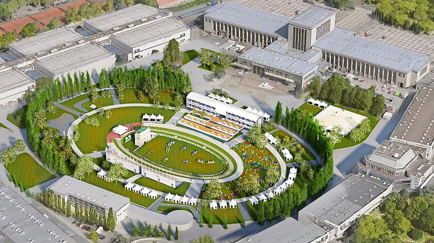 Stunning Stage Revealed for LGCT and GCL of Berlin